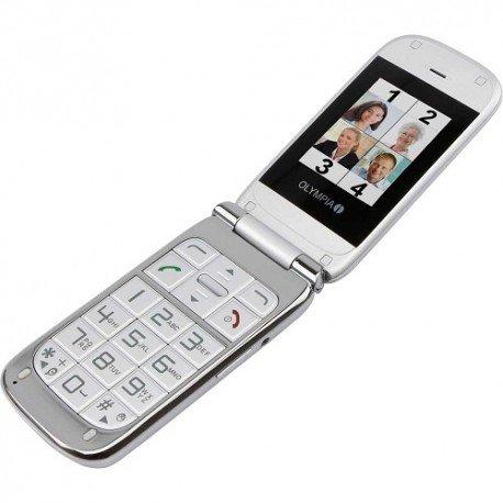 Olympia Becco Plus Seniorenmodell Dual-SIM silver