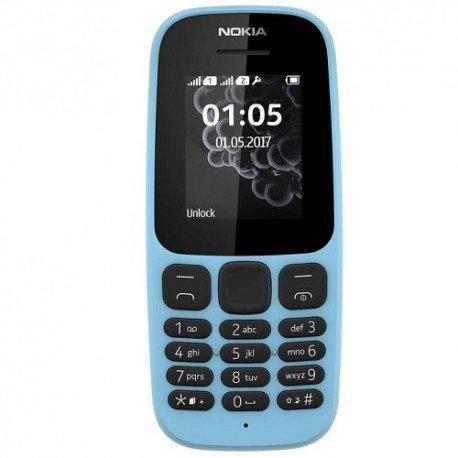 Nokia 105 (2017) Dual-SIM blue