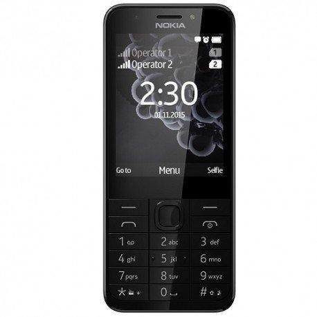 Nokia 230 Dual-SIM dark silver