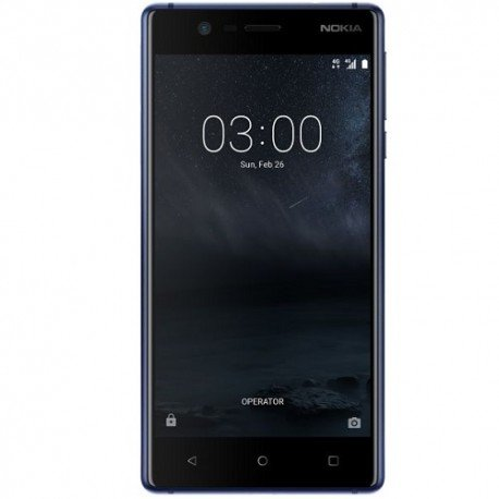 Nokia 3 4G 16GB Dual-Sim tempered blue