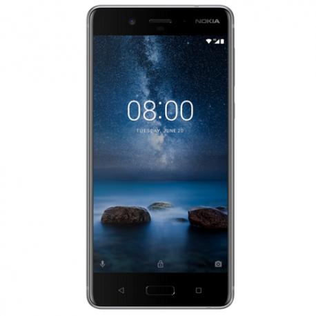 Nokia 8 4G 64GB Dual-SIM silver/steel