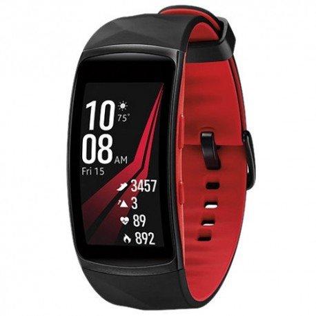 Bracelet Samsung R365 Gear Fit 2 Pro Large black/red