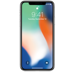 Apple iPhone X 4G 64GB silver