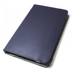 Funda Ebook Tablet 10 pulgadas Polipiel Giratoria Azul Panorámica