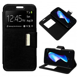 458ce9ce2b8 Funda Flip Cover BQ Aquaris V Plus / VS Plus Liso Negro