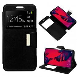 Funda Flip Cover Huawei P20 Pro Liso Negro