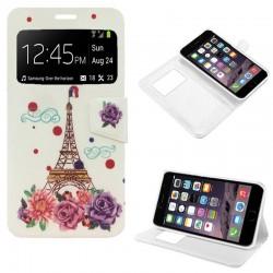 Funda Flip Cover iPhone 6 Plus / 6s Plus Dibujos Paris