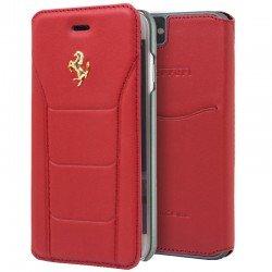 Funda Flip Cover iPhone 7 / iPhone 8 Licencia Ferrari Rojo