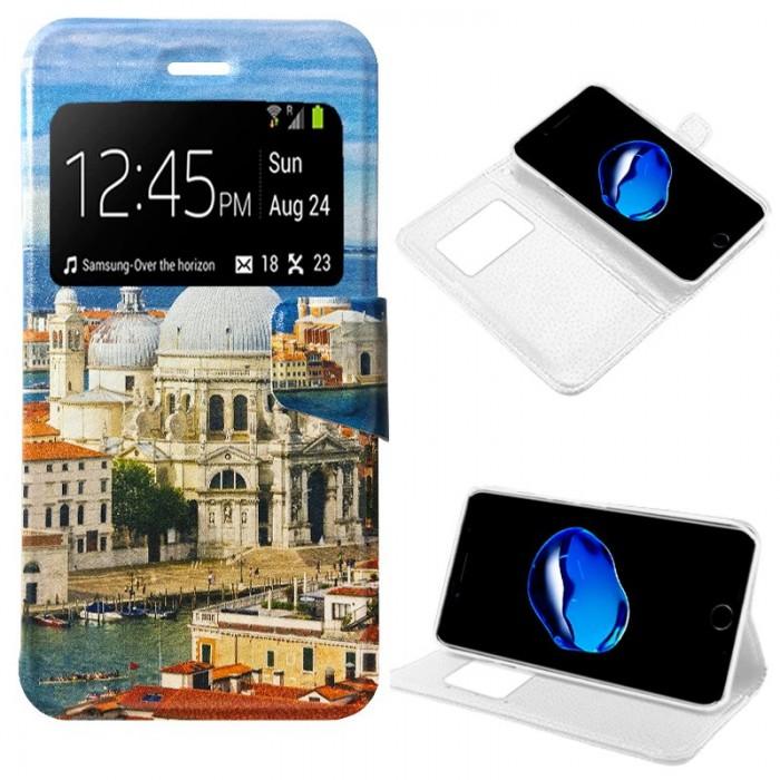 Funda Flip Cover iPhone 7 Plus / iPhone 8 Plus Dibujos City