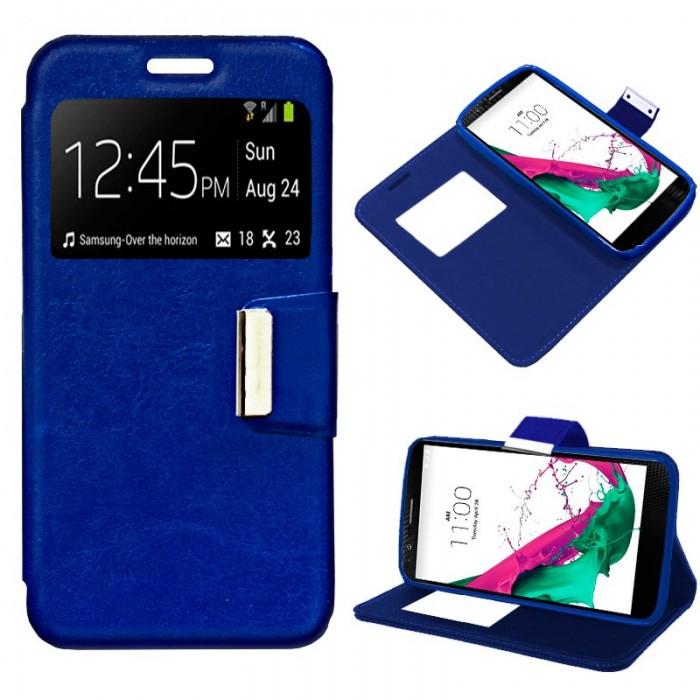 Funda Flip Cover LG G4C / Magna Liso Azul