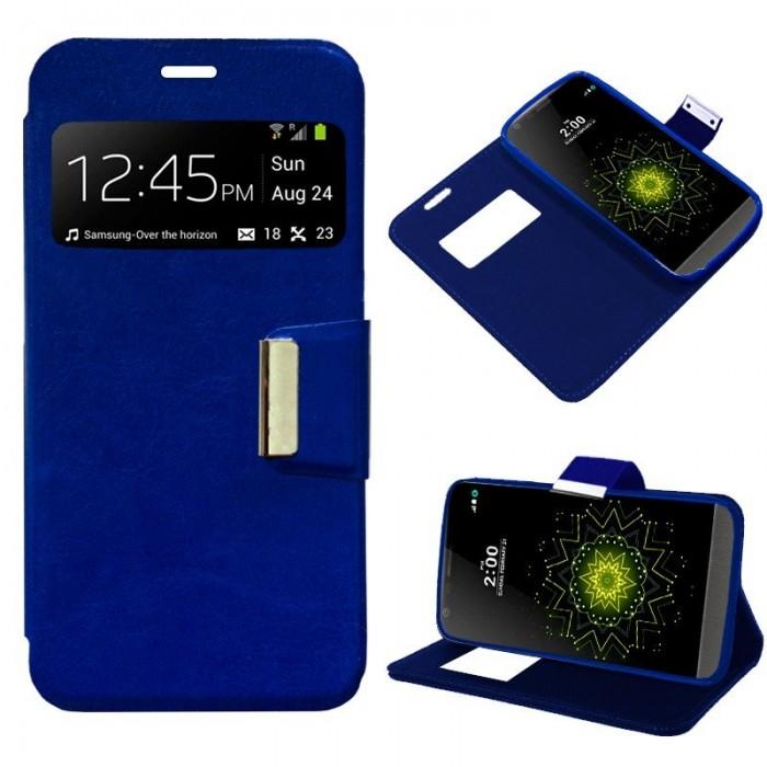 Funda Flip Cover LG G5 Liso Azul