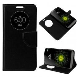 Funda Flip Cover LG G5 Liso Negro