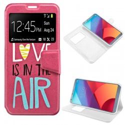 Funda Flip Cover LG G6 / G6 Plus Dibujos Love