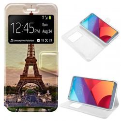 Funda Flip Cover LG G6 / G6 Plus Dibujos Paris