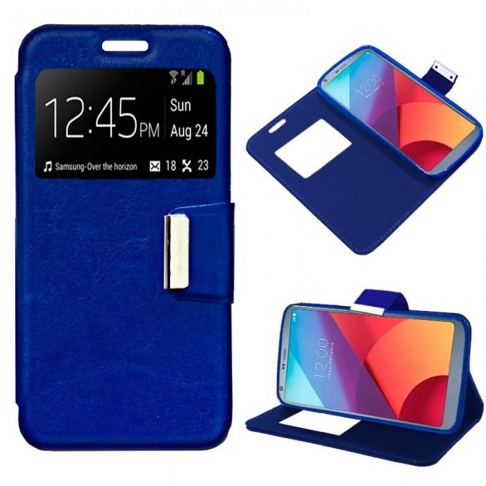 Funda Flip Cover LG G6 / G6 Plus Liso Azul