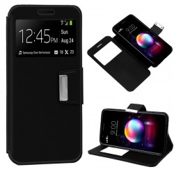Funda Flip Cover LG K11 Liso Negro