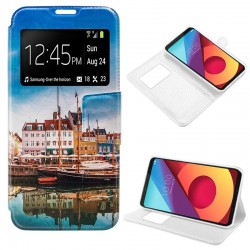 Funda Flip Cover LG Q6 / Q6 Alpha / Q6 Plus Dibujos Lago
