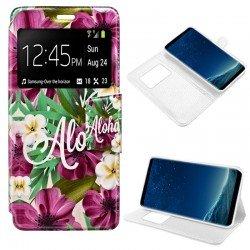 Funda Flip Cover Samsung G950 Galaxy S8 Dibujos Aloha