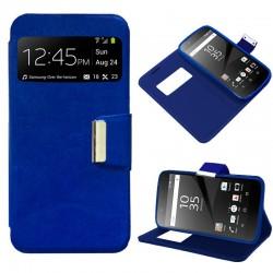 Funda Flip Cover Sony Xperia Z5 Liso Azul