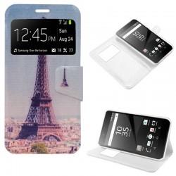 Funda Flip Cover Sony Xperia Z5 Premium Dibujos Torre Eiffel