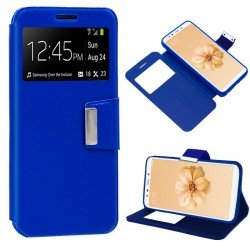 Funda Flip Cover Xiaomi Mi A2 / Mi 6X Liso Azul