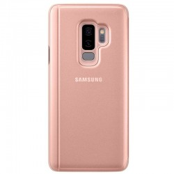 Funda Original Samsung G965 Galaxy S9 Plus Clear View Salmón (Con Blister)