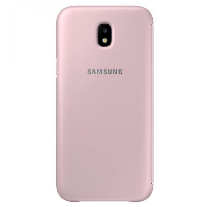 6d0230279f5 Funda Original Samsung J730 Galaxy J7 (2017) Wallet Rosa (Con Blister) ...