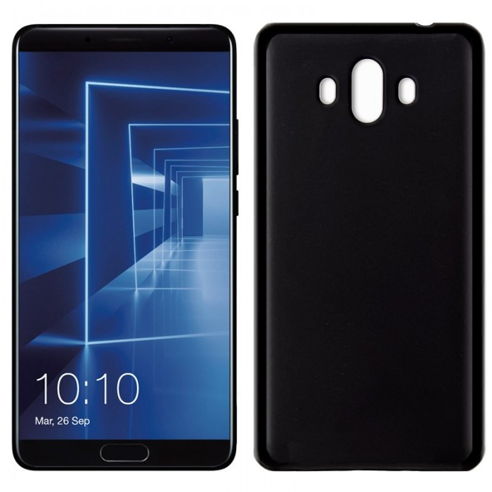 Funda Silicona Huawei Mate 10 (Negro)