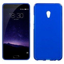 Funda Silicona Meizu MX6 (Azul)