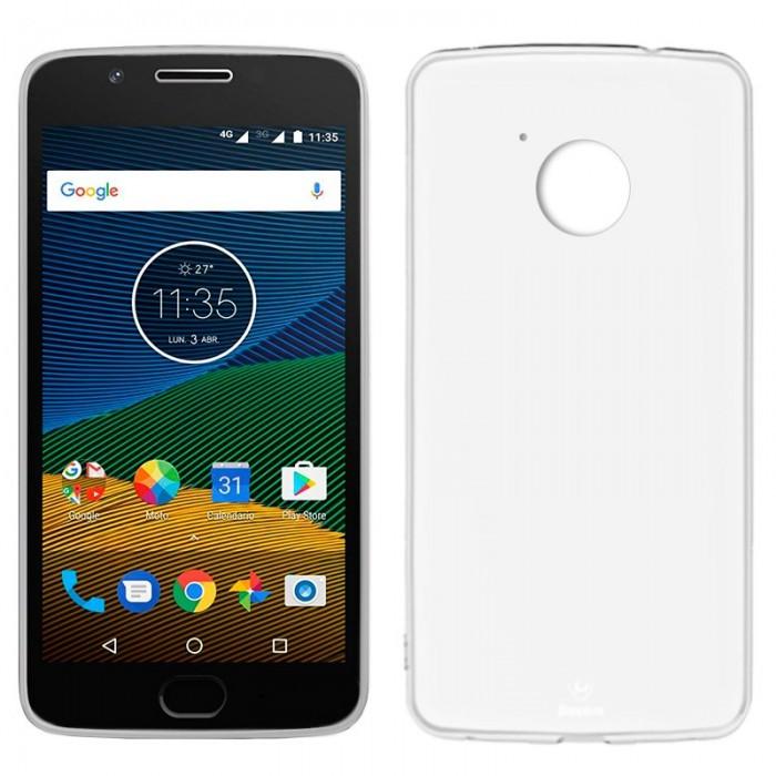 Funda Silicona Motorola Moto G 5ª Generación (Transparente)