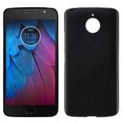 Funda Silicona Motorola Moto G5S (Negro)