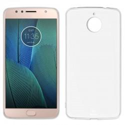 Funda Silicona Motorola Moto G5S Plus (Transparente)