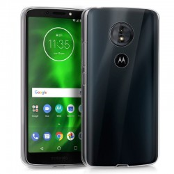 Funda Silicona Motorola Moto G6 Play / Moto E5 (Transparente)