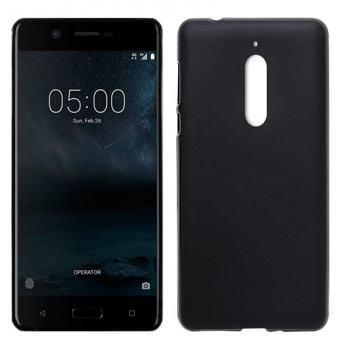 Funda Silicona Nokia 5 (Negro)