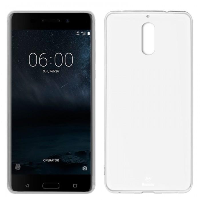 Funda Silicona Nokia 6 (Transparente)