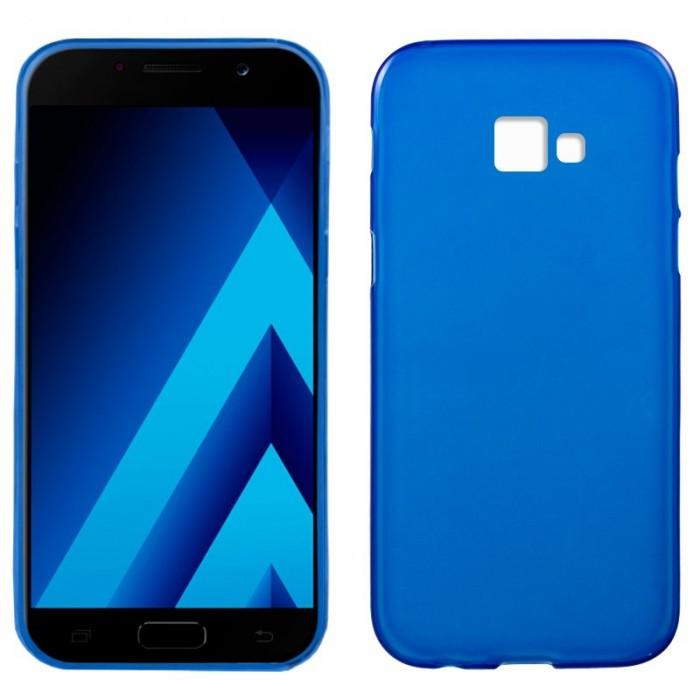 Funda Silicona Samsung A520 Galaxy A5 (2017) Azul