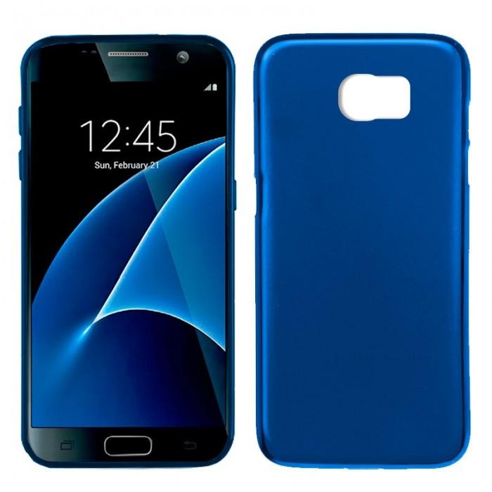 Funda Silicona Samsung G930 Galaxy S7 (Azul)