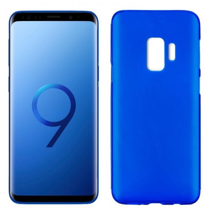 Funda Silicona Samsung G960 Galaxy S9 (Azul)