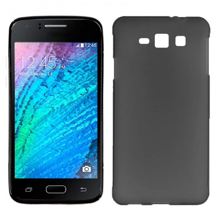 Funda Silicona Samsung J100H Galaxy J1 (Negro)