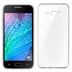 Funda Silicona Samsung J100H Galaxy J1 (Transparente)