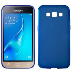 Funda Silicona Samsung J120 Galaxy J1 (2016) Azul