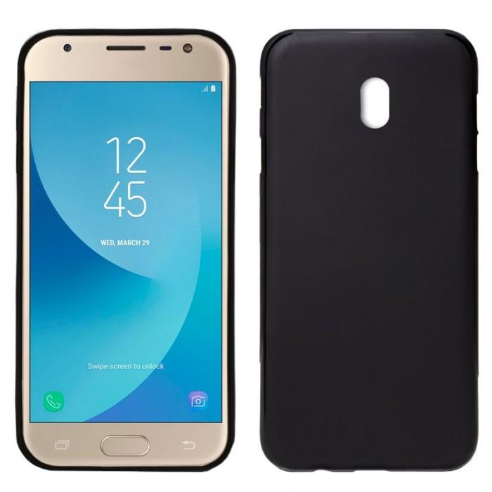 Funda Silicona Samsung J330 Galaxy J3 (2017) Negro