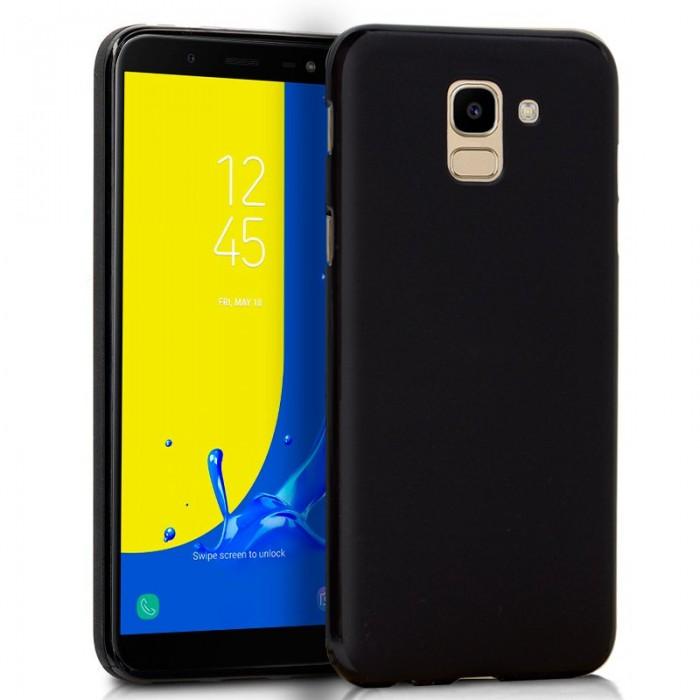 Funda Silicona Samsung J600 Galaxy J6 Negro