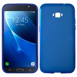 Funda Silicona Samsung J710 Galaxy J7 (2016) Azul