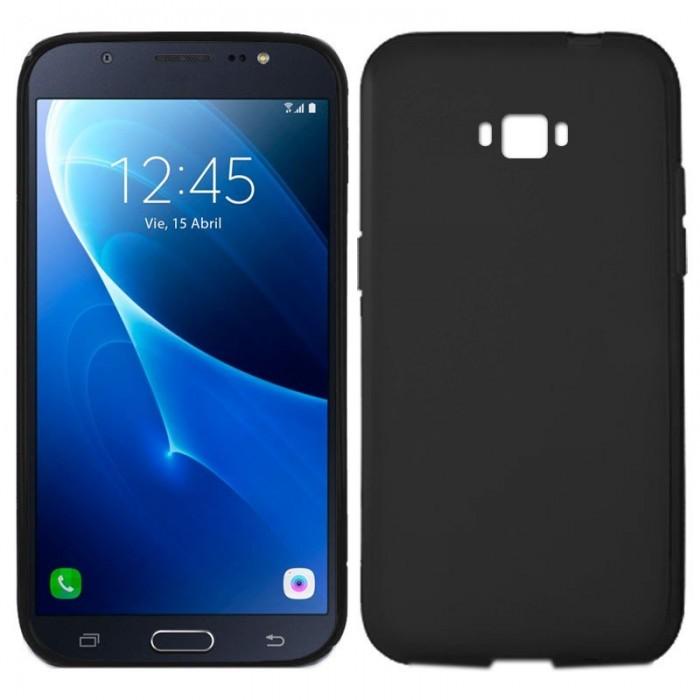 Funda Silicona Samsung J710 Galaxy J7 (2016) Negro