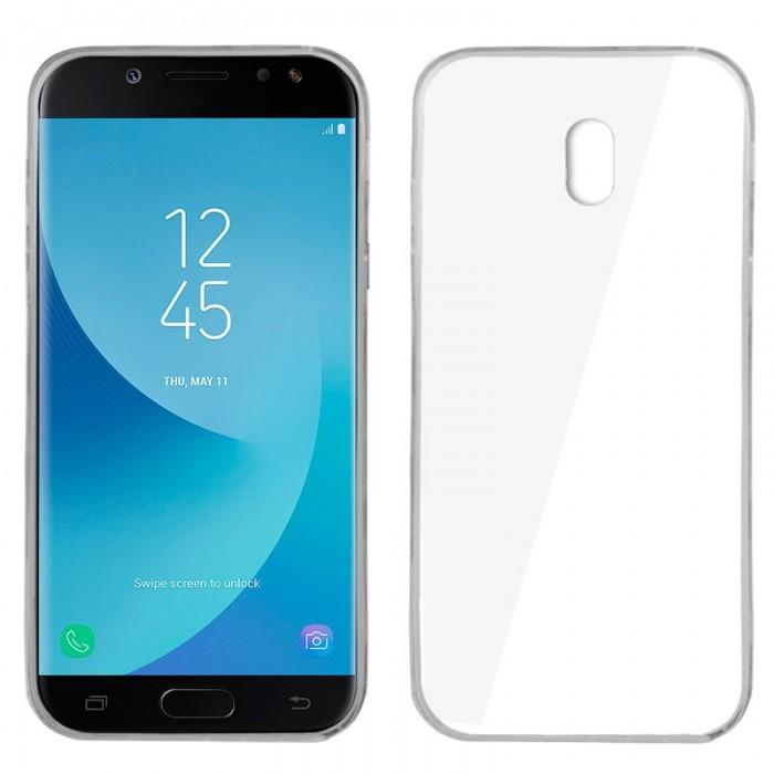 Funda Silicona Samsung J730 Galaxy J7 (2017) Transparente