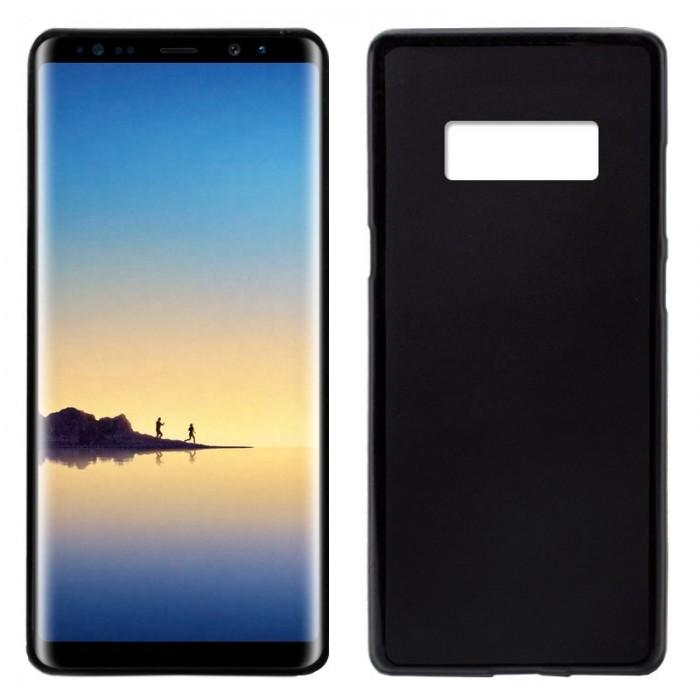 Funda Silicona Samsung N950 Galaxy Note 8 (Negro)