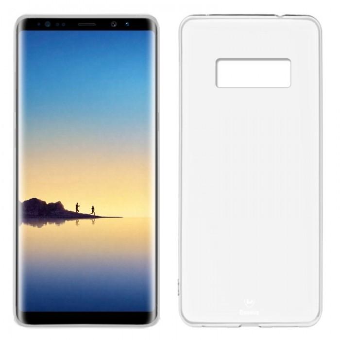 Funda Silicona Samsung N950 Galaxy Note 8 (Transparente)