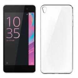 Funda Silicona Sony Xperia E5 (Transparente)