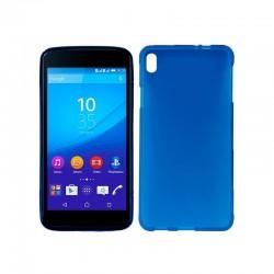 Funda Silicona Sony Xperia M4 Aqua (Azul)
